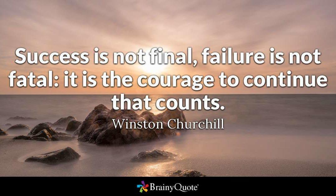 Success Is Not Final Facebook