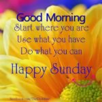 Sunday Morning Positive Quotes Facebook