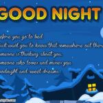 Sweet Good Night Message For Crush Facebook