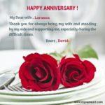 Wedding Anniversary Greetings To Wife Twitter