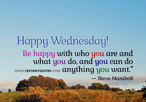 Wednesday Uplifting Quotes Tumblr