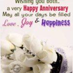 Wish You Both A Very Happy Wedding Anniversary